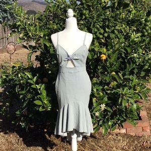 A.Calin Denim Dress
